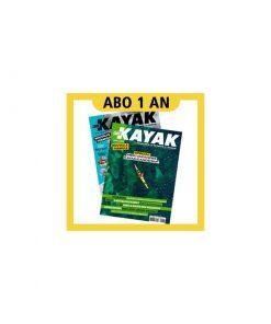 1 AN d'abonnement à Canoë Kayak Magazine