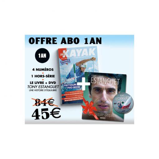 1 AN d'abo à Canoë Kayak Magazine - Black Friday