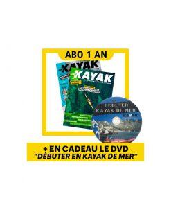 1 AN d'abonnement à Canoë Kayak Magazine + 1 DVD en cadeau !