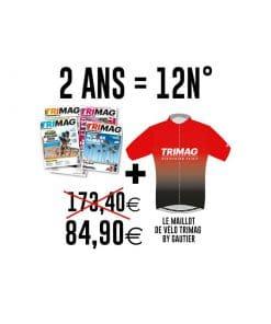 2 ANS TRIMAG - 12N° + le maillot de vélo TRIMAG by GAUTIER !